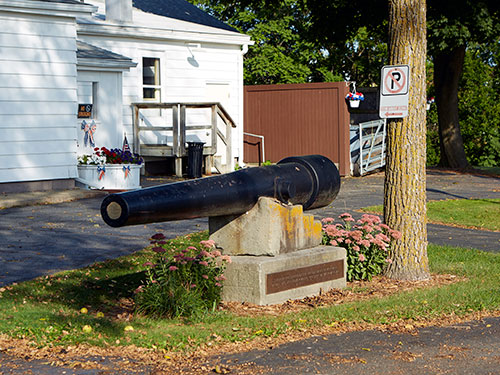 Parrot Cannon Wide at Dexter VFW post. Image ©2016 Look Around You Ventures, LLC.